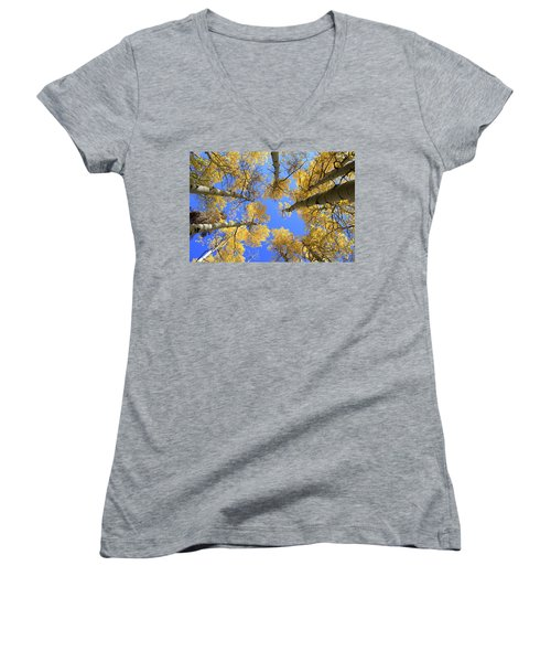 Aspens Skyward Women's V-Neck (Athletic Fit)
