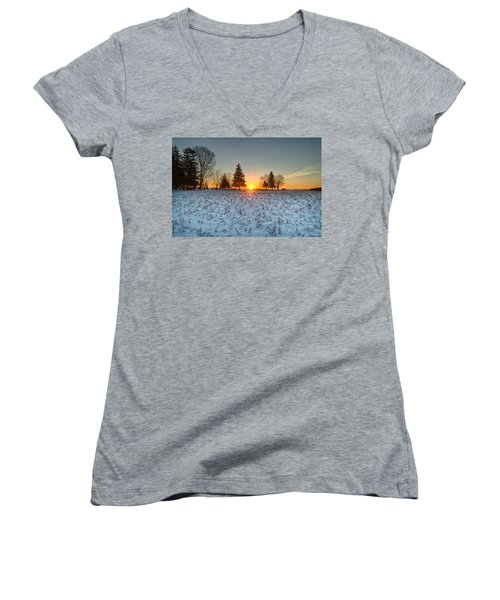 At First Light Women's V-Neck
