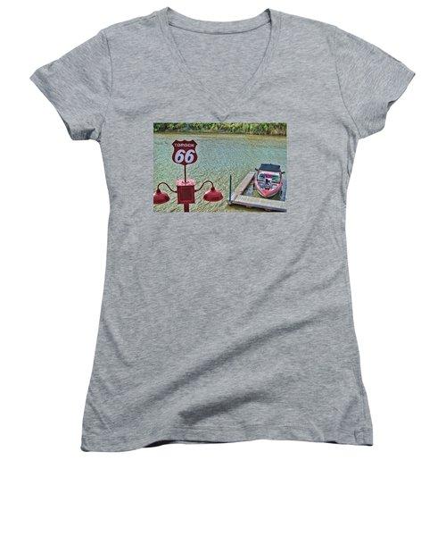 At Lake Havasu Women's V-Neck T-Shirt