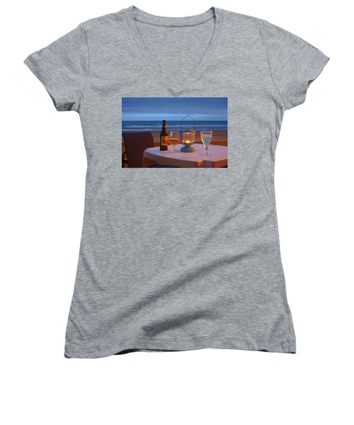 At The End Of The Day Women's V-Neck