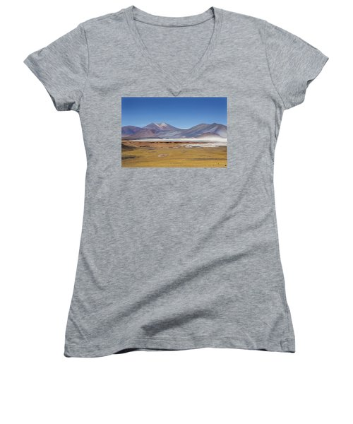 Atacama Hills Women's V-Neck T-Shirt