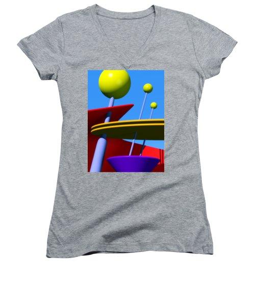Atomic Dream Women's V-Neck T-Shirt