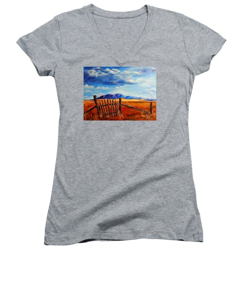 Atypical Women's V-Neck