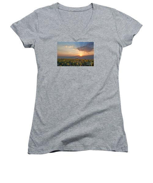 August Dreams Women's V-Neck
