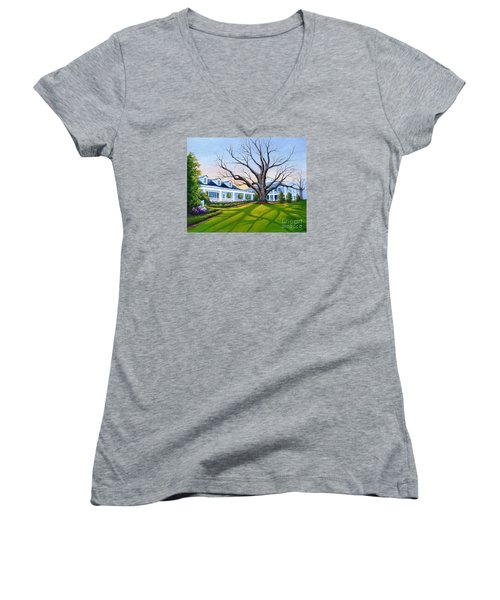 Augusta National Clubhouse Women's V-Neck T-Shirt