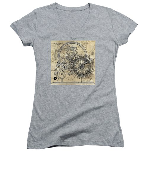 Autowheel II Women's V-Neck T-Shirt