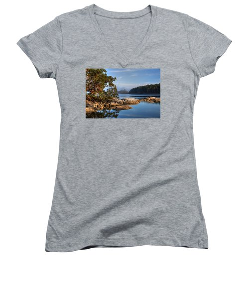 Autumn Afternoon Women's V-Neck