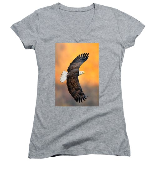 Autumn Eagle Women's V-Neck