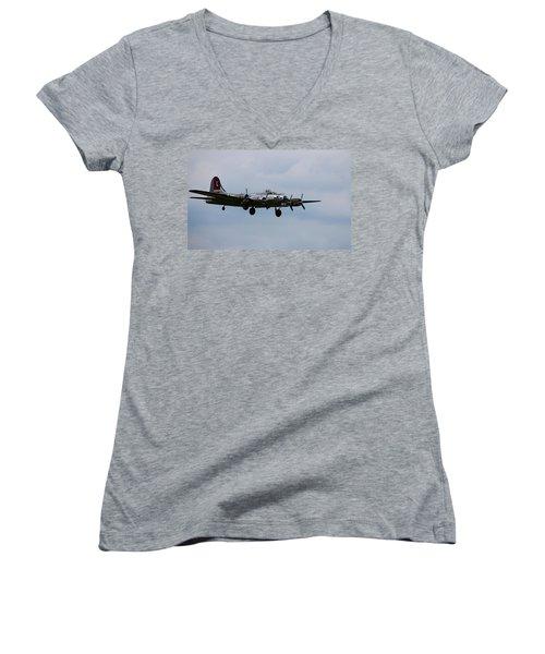 B-17 Yankee Lady Women's V-Neck