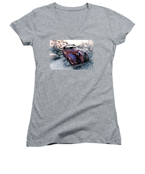 Back In Time Women's V-Neck