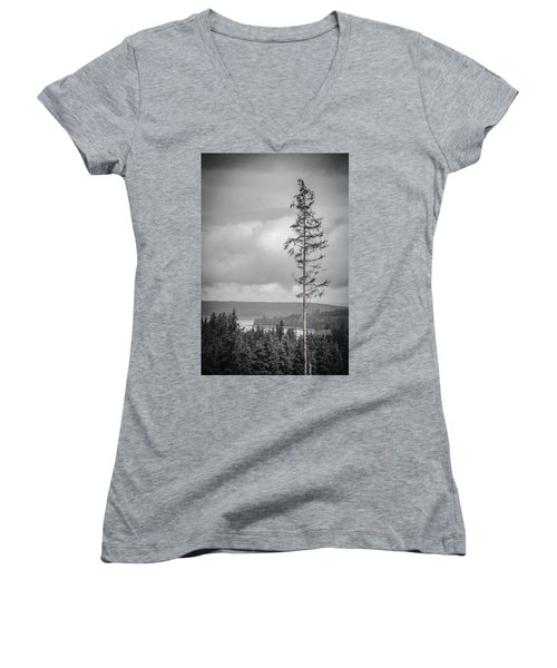 Tall Tree View Women's V-Neck