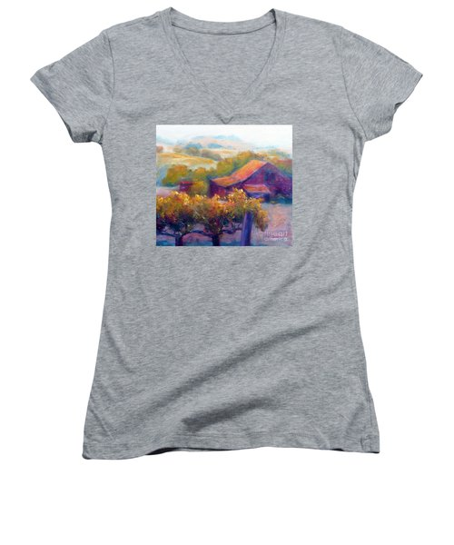 Barn Vineyard Women's V-Neck