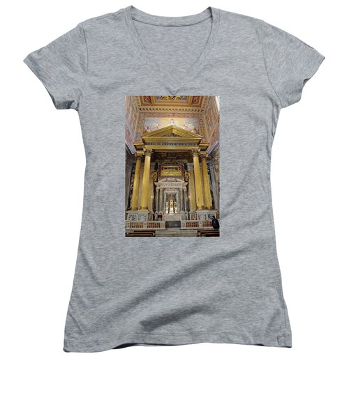 Basilica Of St John Lateran  Women's V-Neck