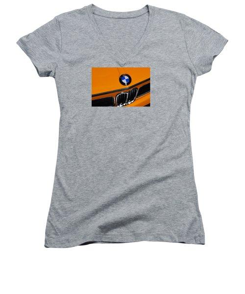 Bavarian Auto Werkes Women's V-Neck T-Shirt (Junior Cut) by John Schneider