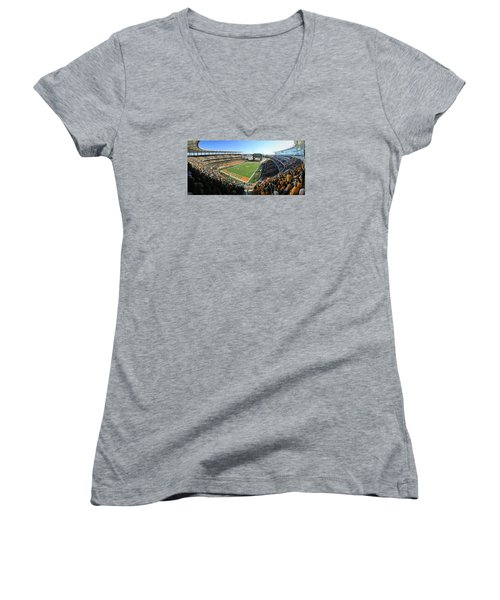 Baylor Gameday No 5 Women's V-Neck T-Shirt
