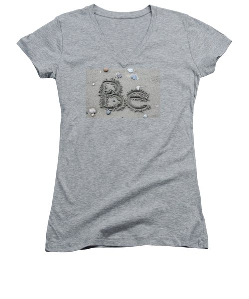 Be Women's V-Neck (Athletic Fit)