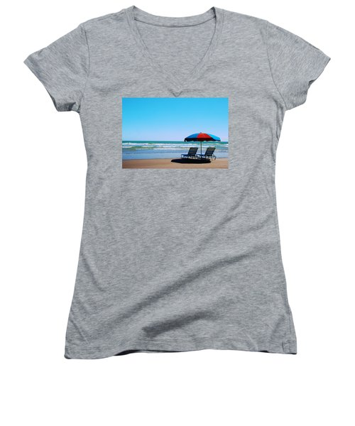 Beach Dreams Women's V-Neck