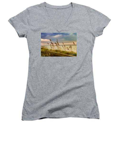 Beach Grass Women's V-Neck