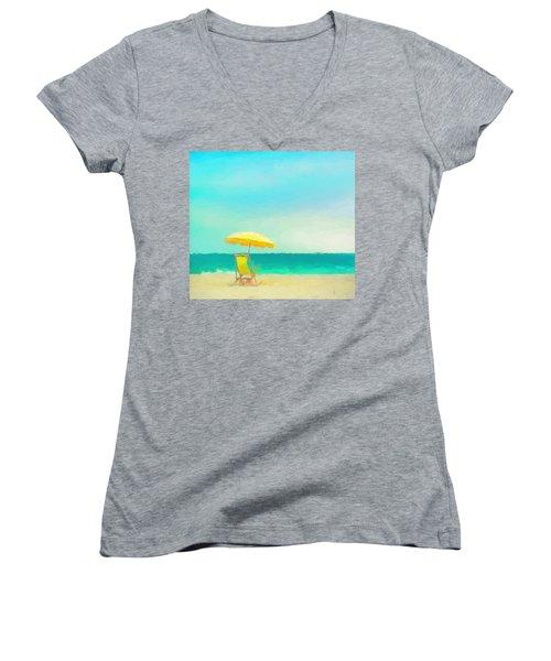 Got Beach? Women's V-Neck