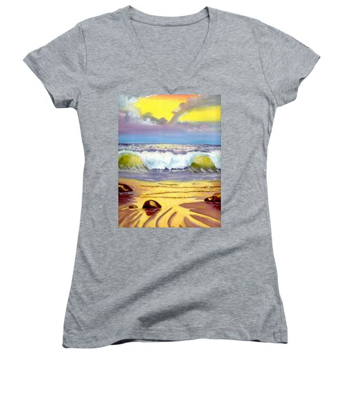 Beautiful Beach Women's V-Neck