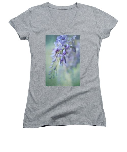 Beautiful Blue Women's V-Neck (Athletic Fit)