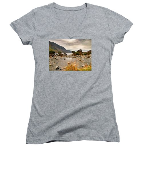 Beautiful Wastwater Women's V-Neck (Athletic Fit)