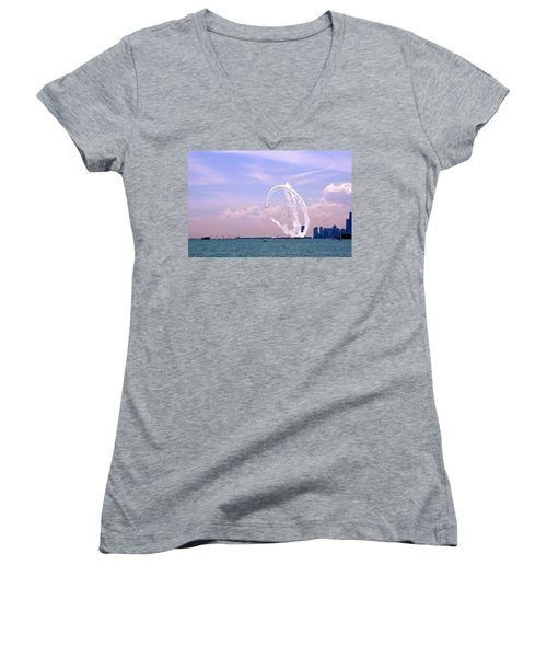 Beauty In The Air Women's V-Neck