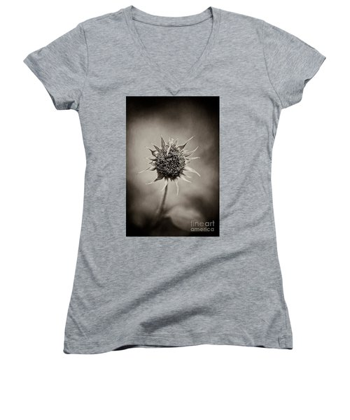 Beauty Of Loneliness Women's V-Neck