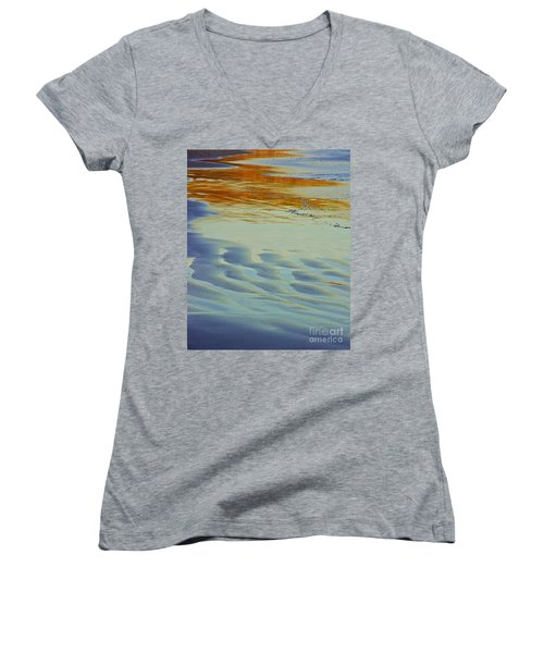 Beauty Of Nature Women's V-Neck (Athletic Fit)