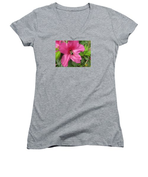 Bee Cause Women's V-Neck T-Shirt