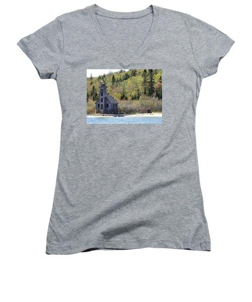 Before Restoration Women's V-Neck T-Shirt
