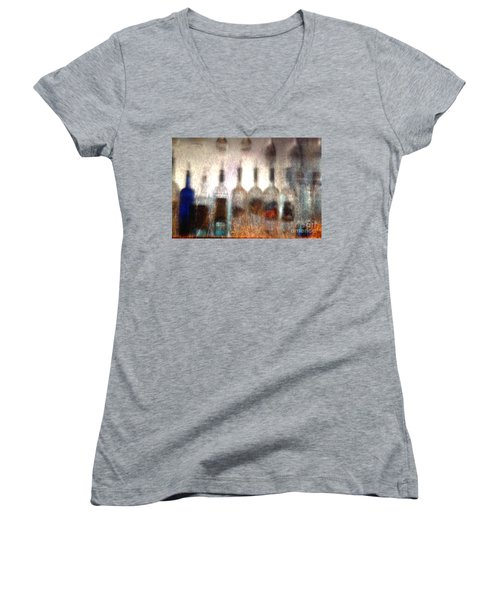 Behind The Bar Women's V-Neck (Athletic Fit)