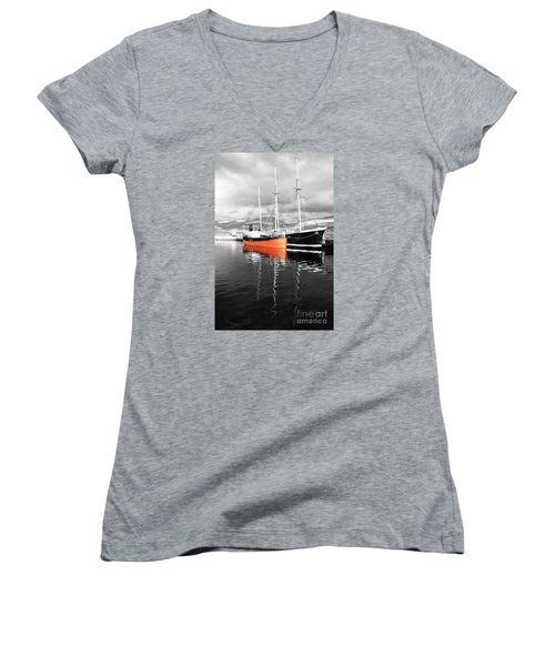 Being Selective Women's V-Neck T-Shirt (Junior Cut) by Wendy Wilton