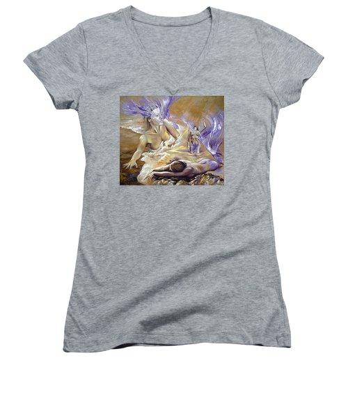 Belonging Women's V-Neck T-Shirt