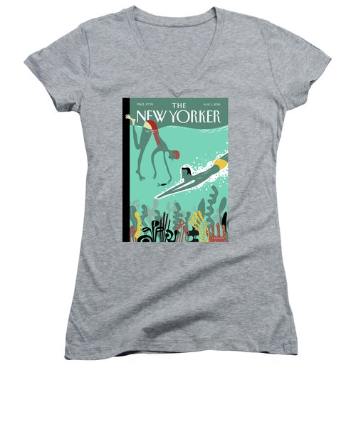 Beneath The Waves Women's V-Neck