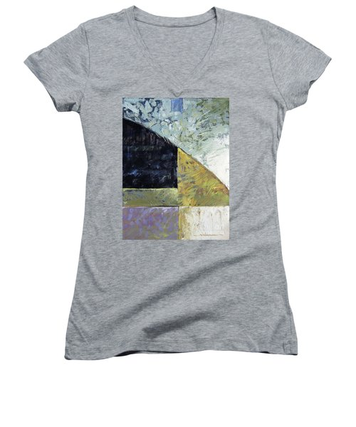 Bent On Abstraction Women's V-Neck