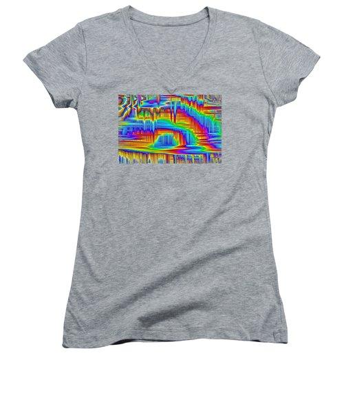 Beyond The Frills Women's V-Neck T-Shirt