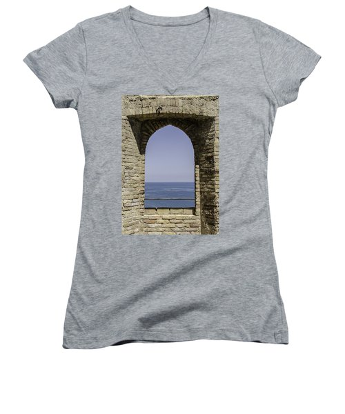 Beyond The Gate Of Infinity Women's V-Neck
