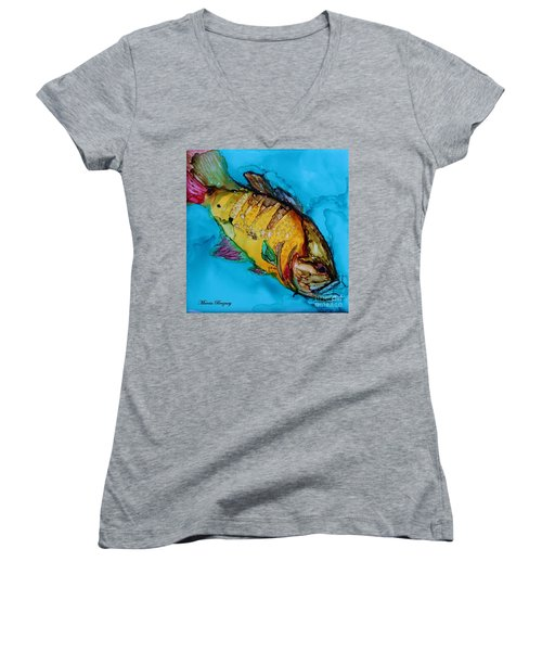 Big Mouth Women's V-Neck T-Shirt