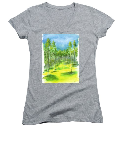 Birch Glen Women's V-Neck (Athletic Fit)