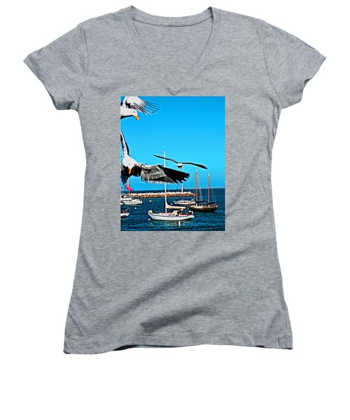 Birds In Paradise Women's V-Neck