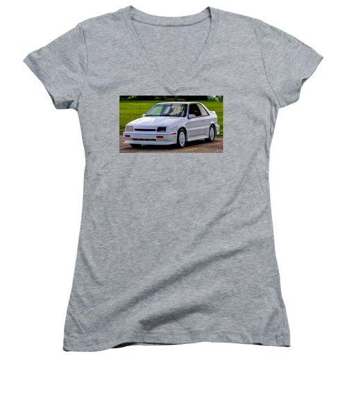 Birthday Car 01 Women's V-Neck