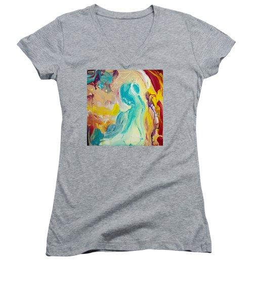 Birthing Chamber Women's V-Neck T-Shirt