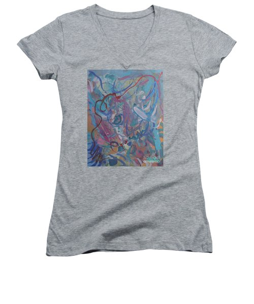 Blast Women's V-Neck T-Shirt