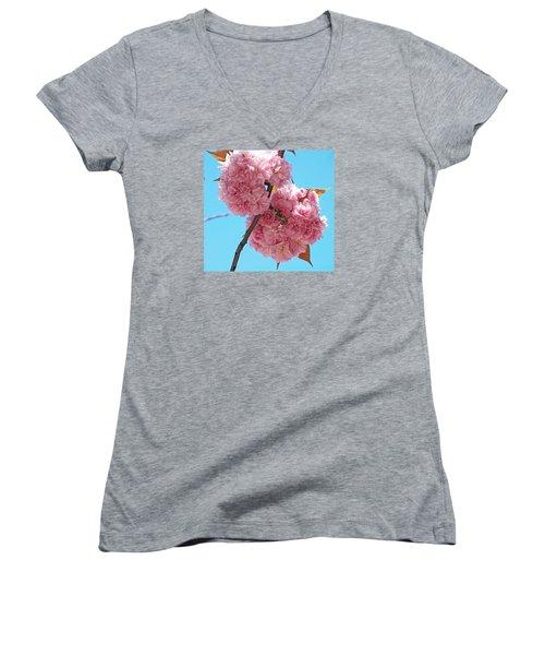 Blossom Bouquet Women's V-Neck