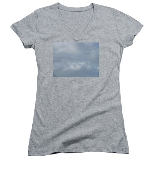 Blowing Smoke Women's V-Neck T-Shirt (Junior Cut)