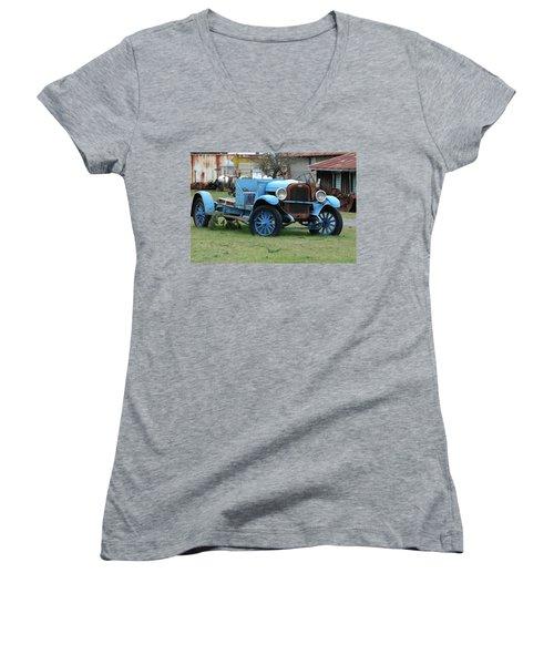 Blue Chevy  Women's V-Neck