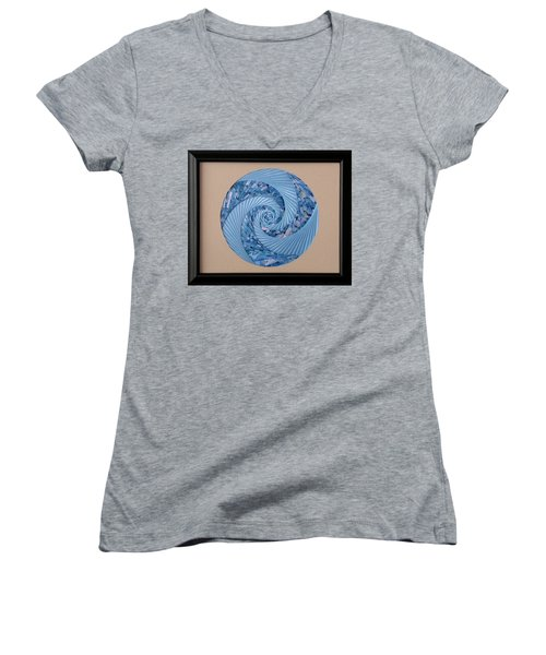 Blue Pool Women's V-Neck T-Shirt