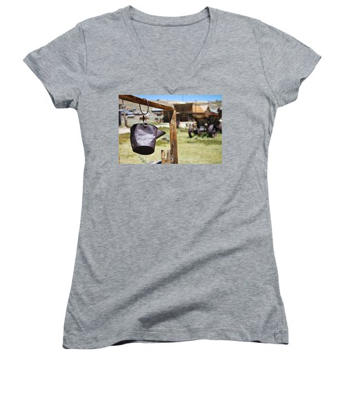 Bodie Ghost Town 2 - Old West Women's V-Neck