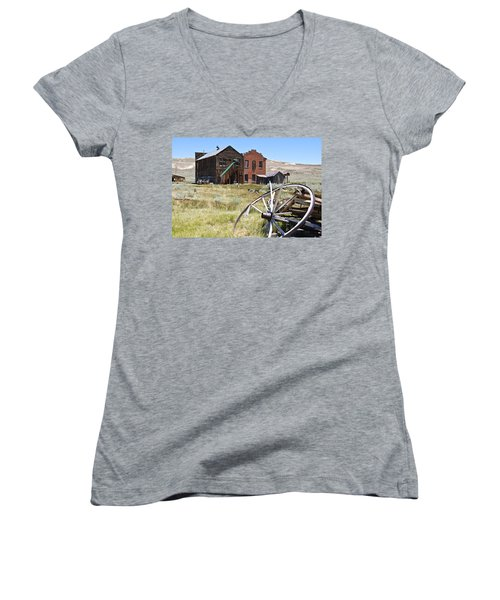 Bodie Ghost Town 3 - Old West Women's V-Neck